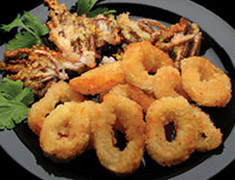 Breaded Squid Rings<br />